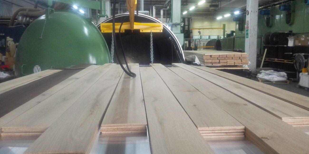 essiccatoio sottovuoto per legno