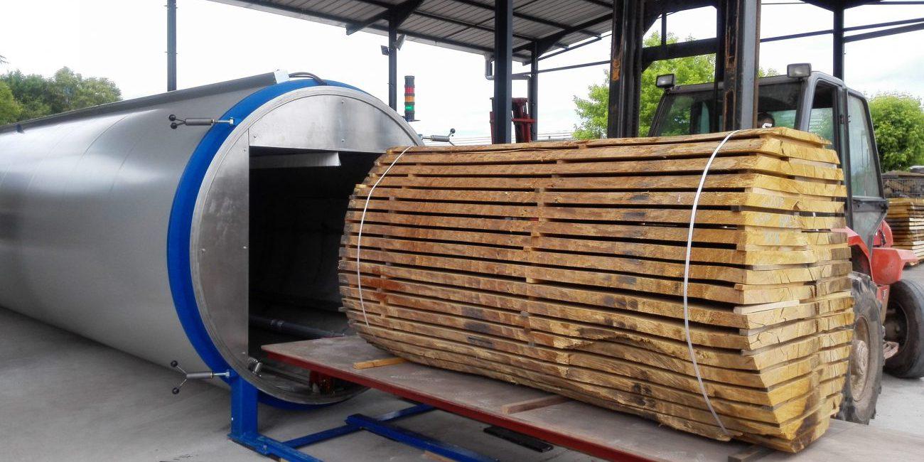 木材真空干燥器